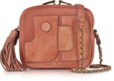 Jerome Dreyfuss Pascal Rose Leather Shoulder bag