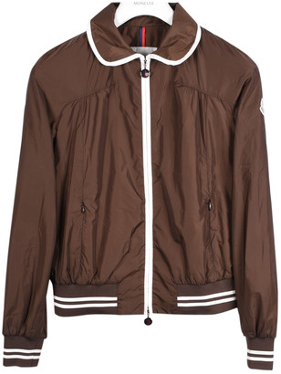 Moncler Brown Synthetic Jackets