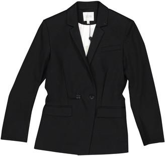 Dagmar Black Cotton Jackets