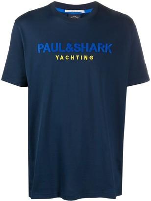 Paul & Shark Cotton Logo T-Shirt