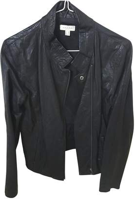 Axara Paris \N Anthracite Leather Jacket for Women