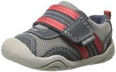 pediped Grip 'n' Go Adrian (Inf/Tod) - Navy/Grey/Red-3.5 US/18 EU