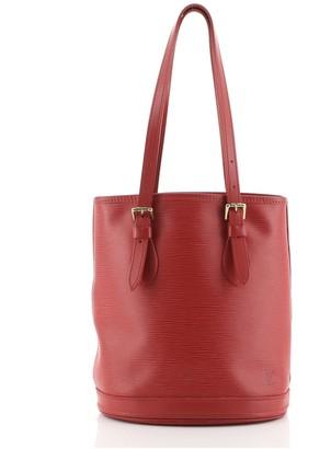 Louis Vuitton Petit Bucket Bag Epi Leather