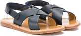 Pom D'Api Plage sandals - kids - Leather/rubber - 24