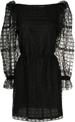 Philosophy di Lorenzo Serafini Juliet sleeved lace mini dress