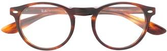 Ray-Ban 5283 Pantos Horn-Rimmed Glasses