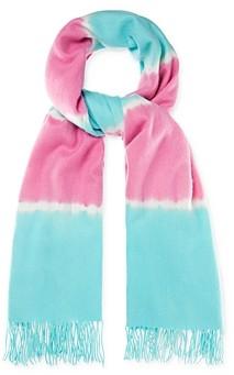 CHARLOTTE SIMONE Betty Tie-Dye Wool Scarf