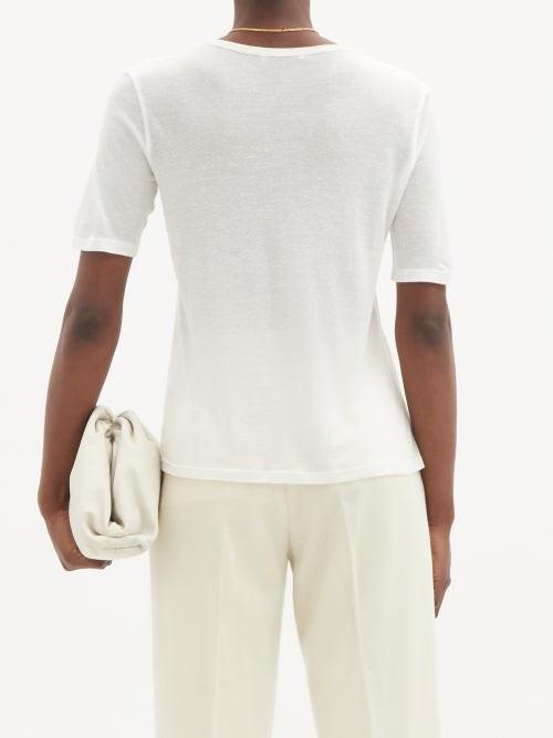 Thumbnail for your product : FRANCES DE LOURDES Martin Jersey T-shirt - White