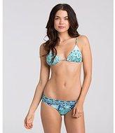 Billabong Women's Beach Triangle Print Bikini Top