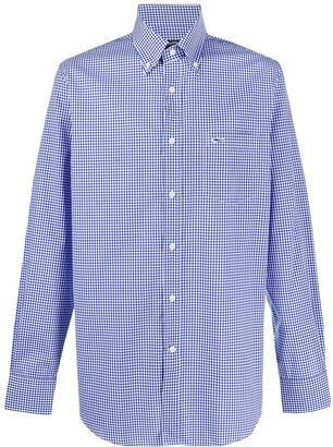 Paul & Shark Check-Print Button-Down Shirt
