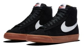 Nike Men's Blazer Mid 77's Suede High Top Casual Sneakers from Finish Line