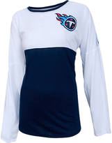 COLLEGE CONCEPTS INC Women's College Concepts Tennessee Titans NFL Long-Sleeve Vortex T-Shirt
