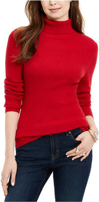 Style&Co. Style & Co Ribbed Turtleneck Sweater