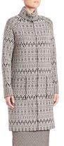 Max Mara Turtleneck Long Sleeve Coat