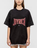Joyrich Logo Embroidered Oversize T-Shirt