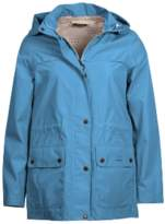 Barbour Blue Heaven and Navy Womens Drizzel Waterproof Breathable Jacket - 8 (UK)