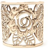 Forever 21 FOREVER 21+ Floral Filigree Cuff