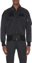 Yang Li Slim-fit shell bomber jacket