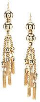 Anna & Ava Sue Chain-Tassel Statement Earrings