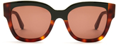 Marni Cromo rectangle-frame sunglasses