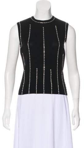 Chanel Embellished Cashmere Top