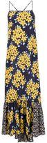 Suno floral print maxi dress
