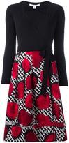 Diane von Furstenberg 'Poppy Chain Rose' dress - women - Wool/Silk/Viscose - 8