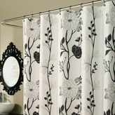 Cassandra m.style 70-Inch x 72-Inch Shower Curtain in Black/White