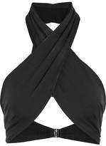 Fella - Dylan Halterneck Bikini Top - Black