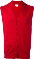 Ballantyne V-neck gilet - men - Cotton/Cashmere - 48