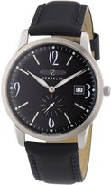 Zeppelin Men's Quartz Watch FlatLine 73342 with Leather Strap