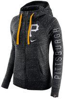 Nike Women's Pittsburgh Pirates Gym Vintage Full-Zip Hooded Sweatshirt