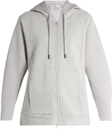 adidas by Stella McCartney Essentials hooded cotton performance sweatshirt