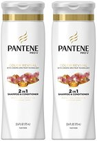 Pantene Color Revival Shine 2in1 Shampoo and Conditioner, 12.6 FL OZ (Pack of 2)