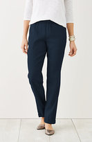 J. Jill Easy Linen-Stretch Pants
