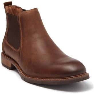 Florsheim Chalet Plain Toe Leather Chelsea Boot