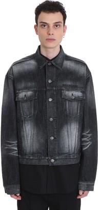 Balenciaga Denim In Black Denim