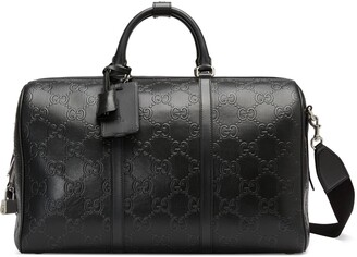 Gucci GG embossed duffle bag