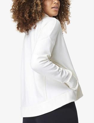 Sweaty Betty Harmonise Luxe recycled cotton-blend sweatshirt