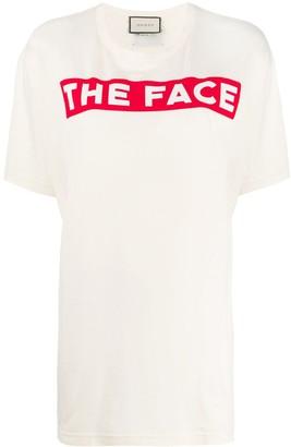 Gucci The Face print T-shirt