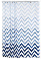 Interdesign Inc Ombre Chevron Shower Curtain
