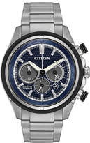 Citizen 46mm Men's Chronograph Bracelet Watch