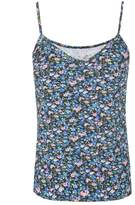 Select Fashion Fashion Womens Blue Printed Cami - size 10