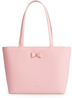 Ted Baker Bow Detail Leather Shopper