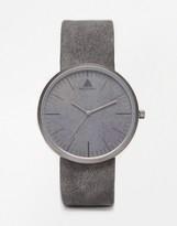 Asos Sleek Watch in Gray Concrete Look