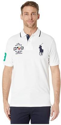 Polo Ralph Lauren Big Pony Classic Fit Polo (White) Men's Clothing
