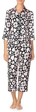Kate Spade Printed Cropped Pajamas Set