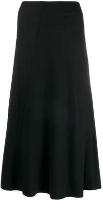 Vince plain A-line skirt