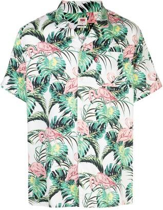 Levi's Flamingo Leaf-print shirt