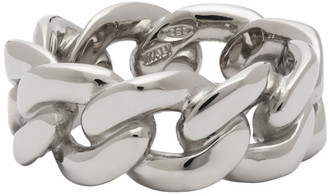 Maison Margiela Silver Thick Chain Ring